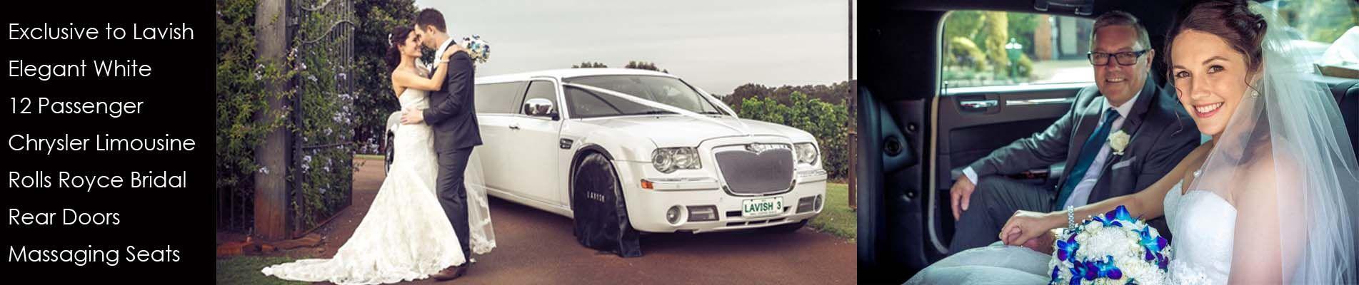 White Chrysler 300C Limousine 12 Seater.jpg