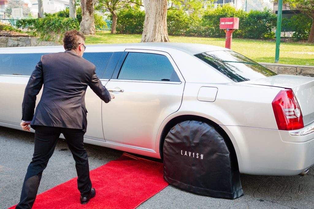 Limousine Tyre Cover
