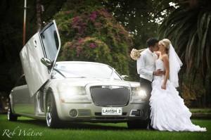 Champange Silver Chrysler 11 Passenger Limousine