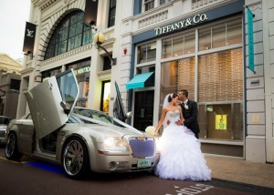 Lavish Sedan Wedding